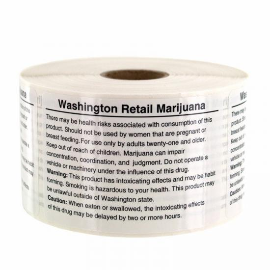 Washington Compliant Labels