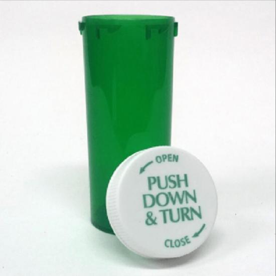 13dr Child-Resisitant Push Down & Turn Vials