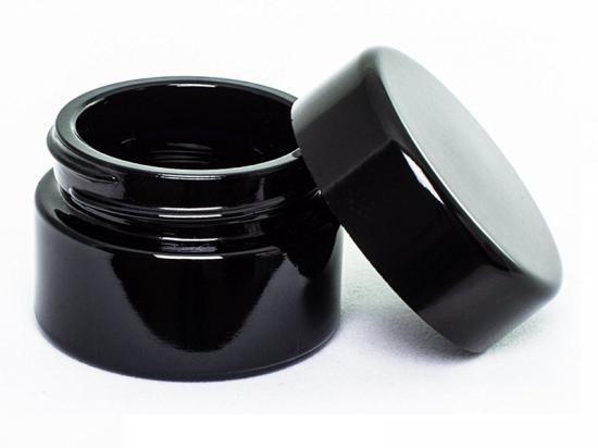 Child Resistant Glass wax container